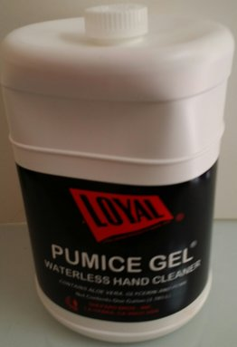 LOYAL PUMICE GEL PINK HAND SOAP